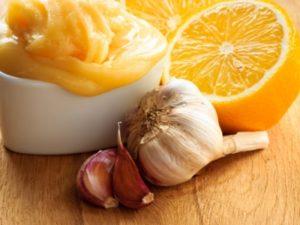 Лимон з часником і медом для судин