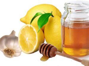 Мед, лимон, часник для судин