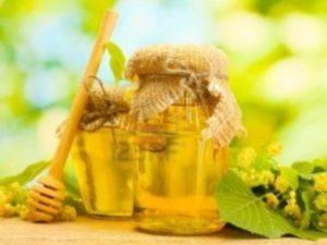 Мед з липи фото
