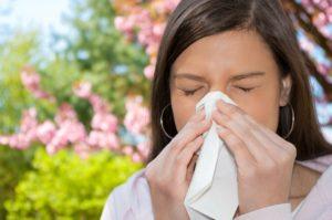 Алергічна реакція на пилок у дорослих