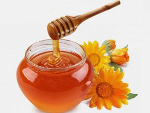 Вплив меду на прищі