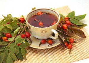 Чай шипшини для схуднення