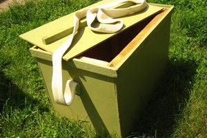 Переносний ящик бджоляра