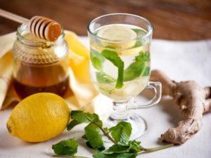 Чай від кашлю з імбиром і медом