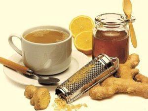 Чай - імбир, лимон, мед