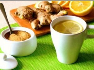 Як приготувати чай з імбиром, лимоном і медом