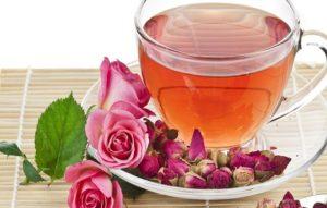 Чай з листя шипшини