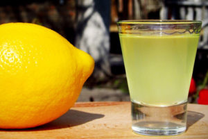 Рецепти домашньої лимонної настоянки