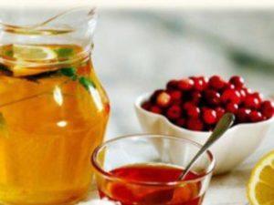 Мед з журавлини