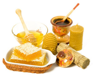 мед з буркуну в косметології