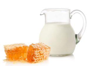 Молоко з медом - користь