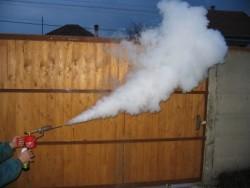 Як робити с дим-гарматою