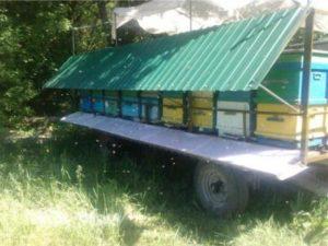 зробити бджолопричеп самостійно