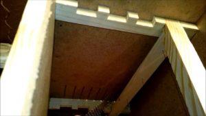 Кріплення рамок в бджолопакетах