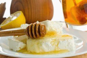 Творог та мед для схуднення