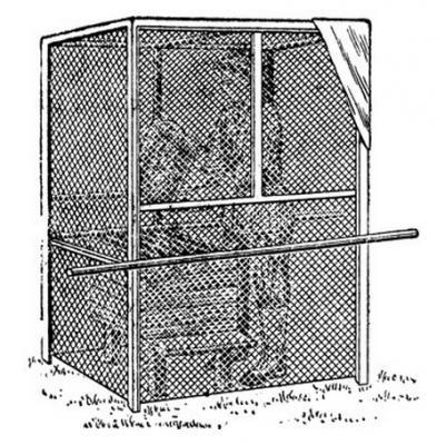 палатка для боротьби з бджолами-злодійками