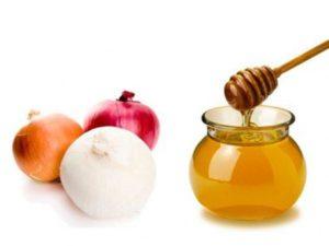 мед, цибуля в лікуванні нежиті
