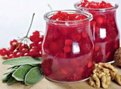 Мед і калина - рецепти