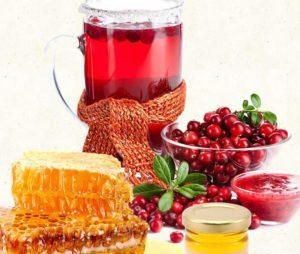 Журавлина з медом - властивості