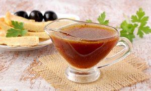 універсальний соус - гірчиця, мед і соєвий соус