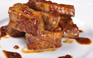 Кращі рецепти свинини в медово-гірчичному і соєвому соусі