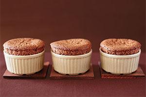 Шоколадне суфле з медом: рецепт
